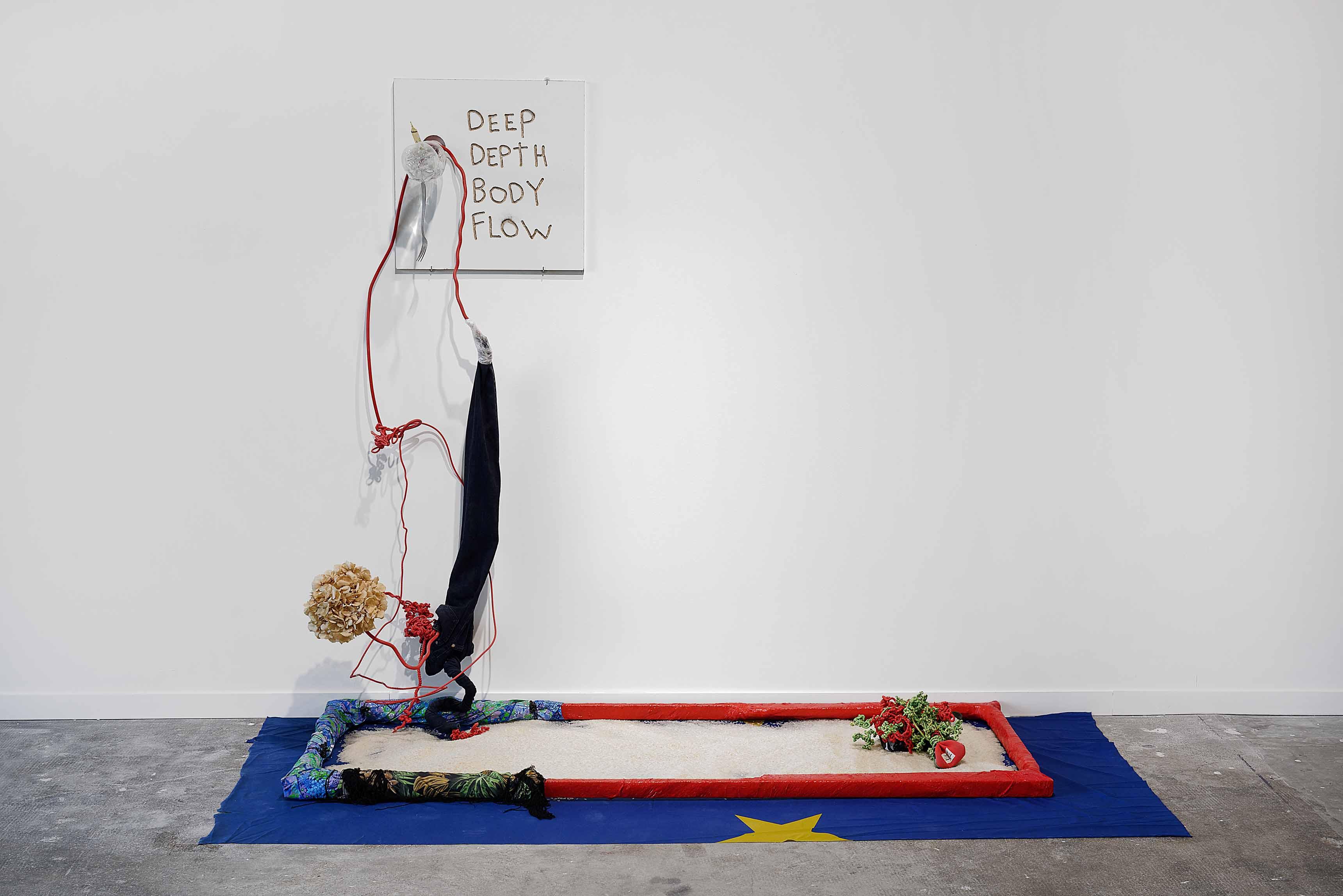 CREUZET Julien, Ricochets, les galets que nous sommes finiront par couler(Epilogue détail) 2017, Courtesy de l'artiste, de la Biennale de Lyon 2017 ©Blaise Adilon