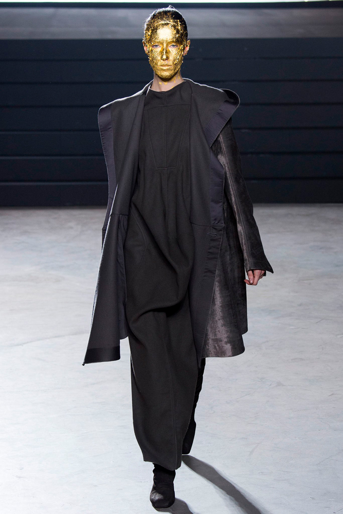 Rick Owens, collection Fall Winter 2015.