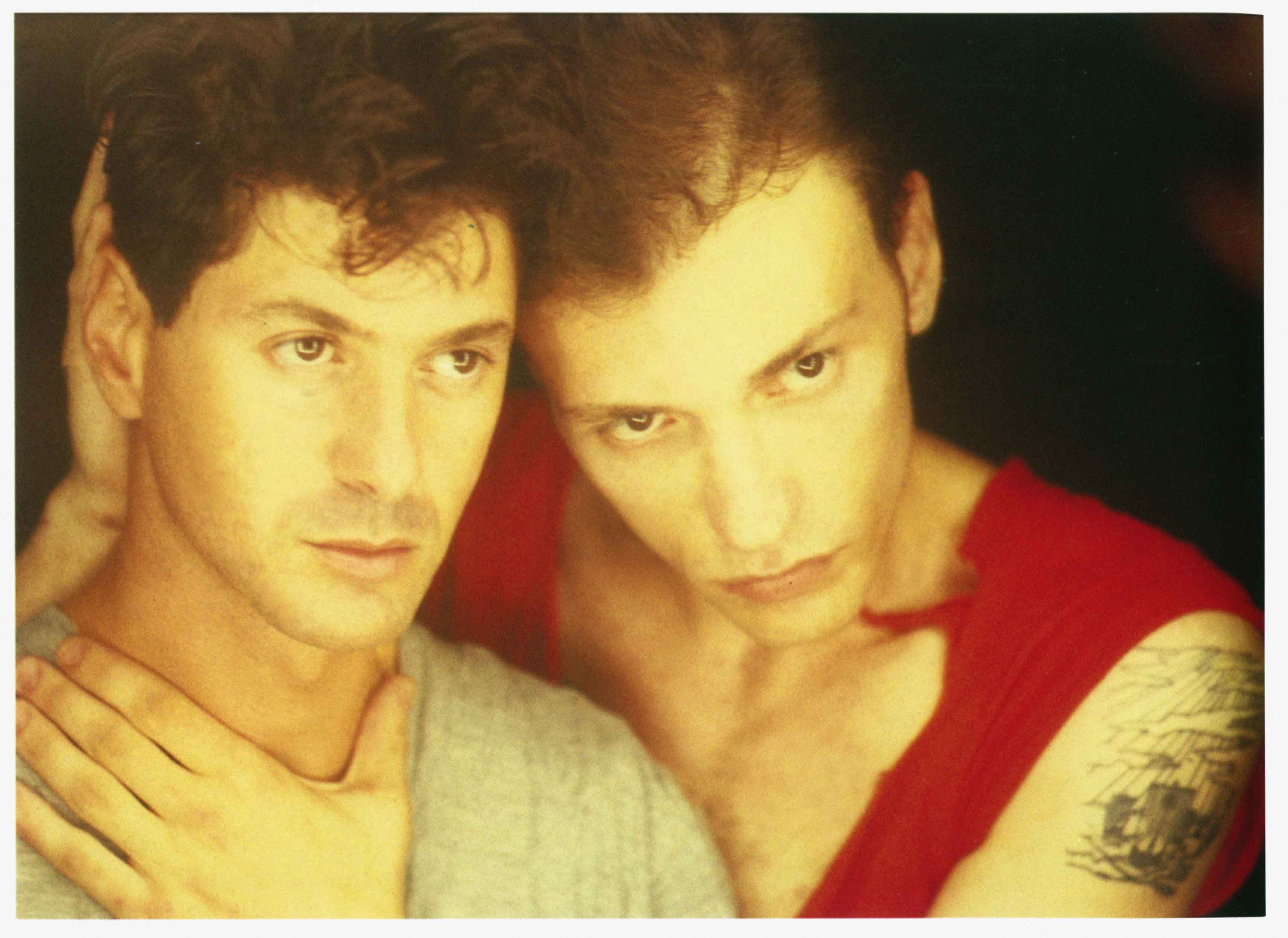 Étienne Daho et Daniel Darc, 1989 ©Antoine Giacomoni-Mandrakimage