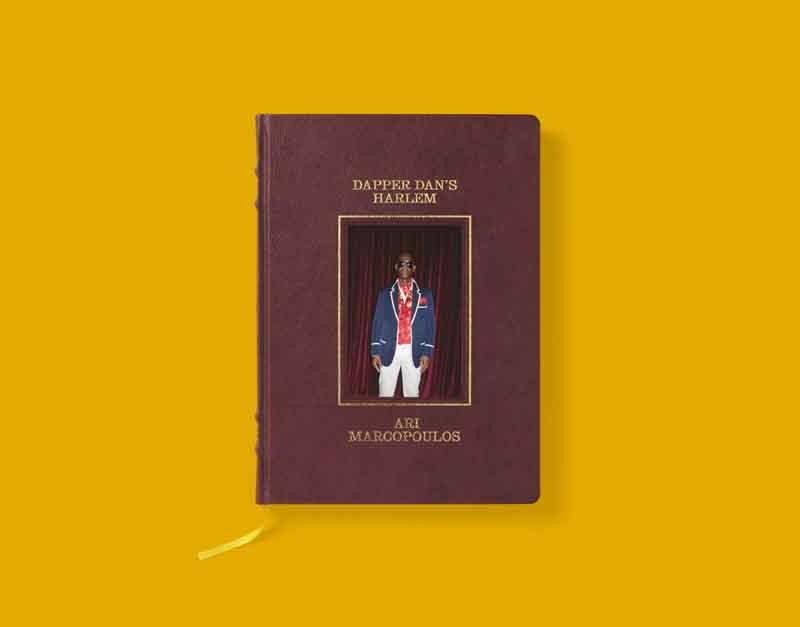 Le nouveau livre d'Ari Marcopoulos sur Dapper Dan en édition limitée inauguré au Gucci Garden.