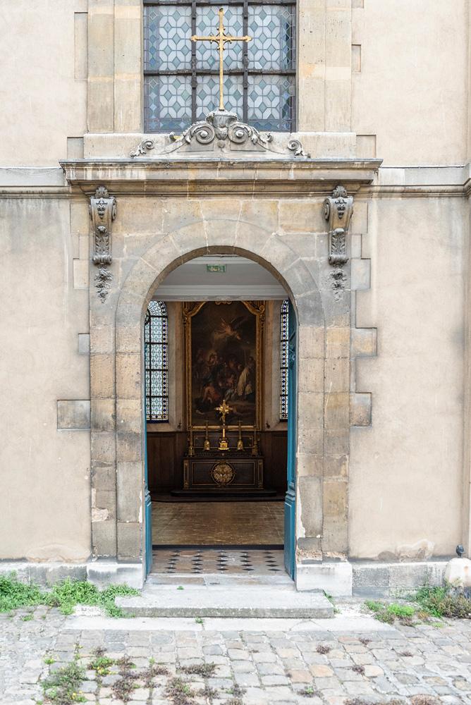 La carte Blanche de Mathias Kiss dans la chapelle de la Manufacture Royale des Gobelins