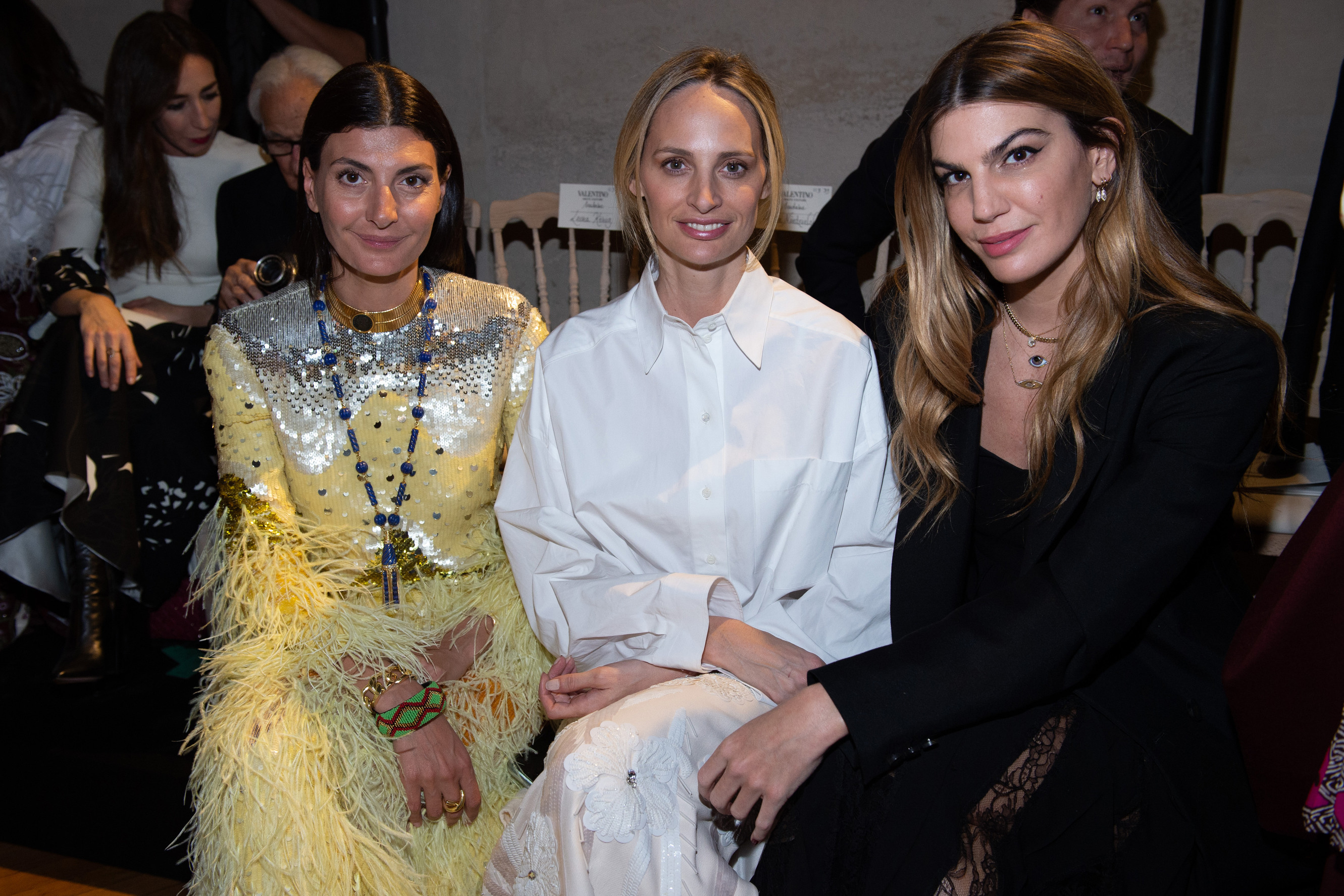 Giovanna Battaglia, Lauren Santo Domingo et Bianca Brandolini D'Abba