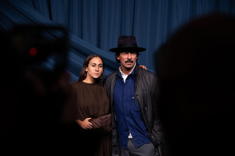 Delfina Delettrez Fendi et Haider Ackermann
