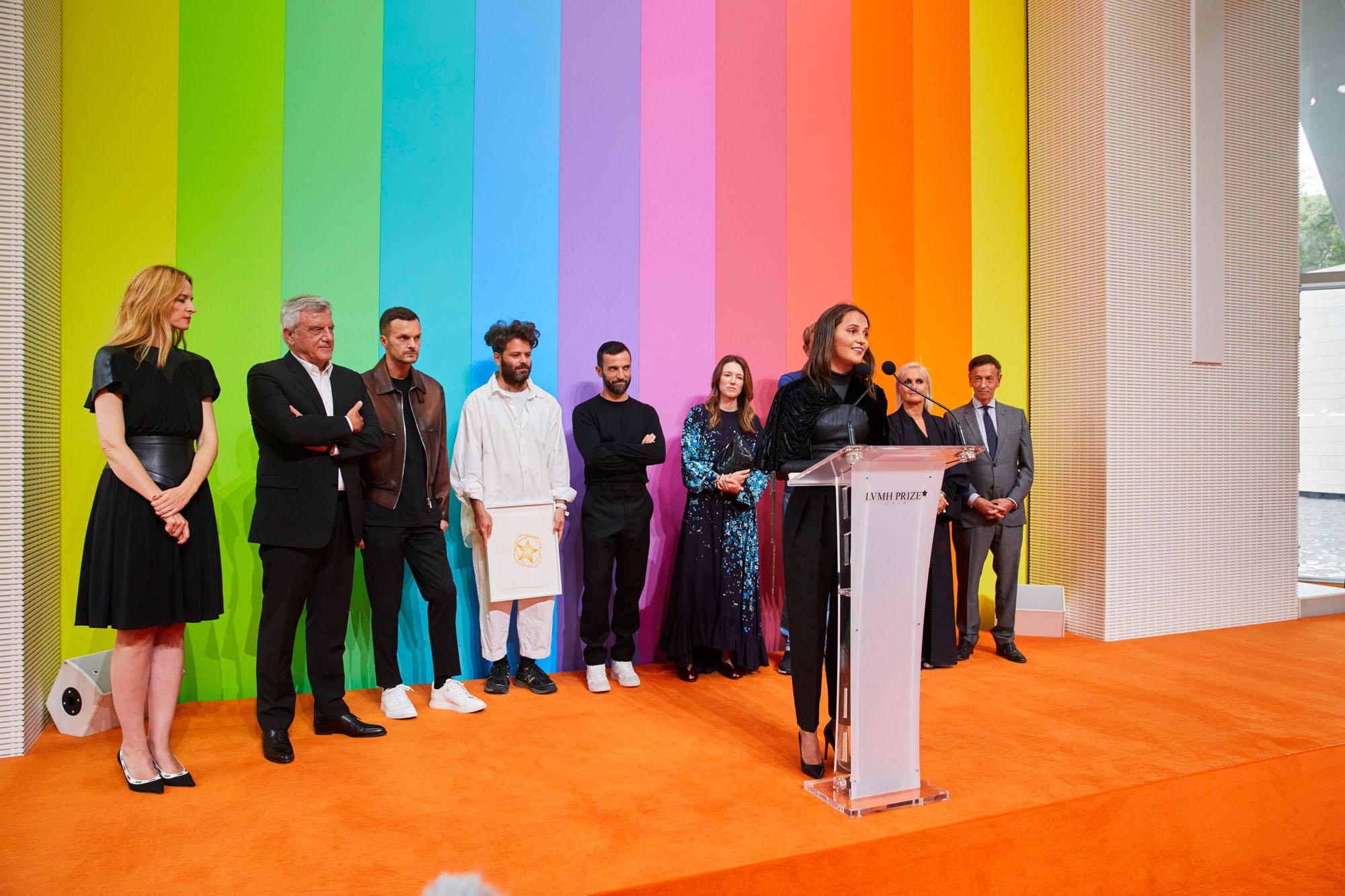 Le jury et les finalistes du prix LVMH 2019