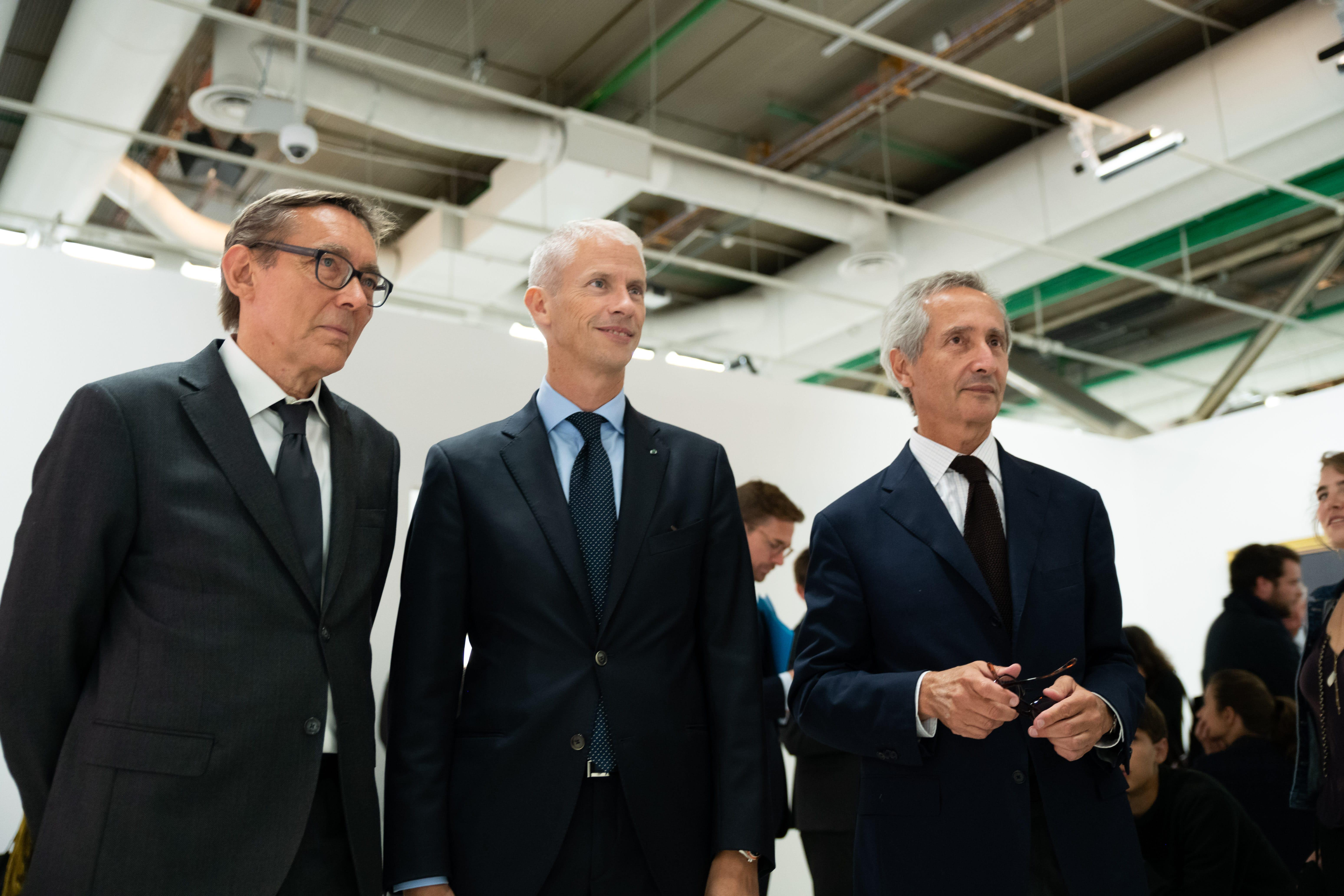 Didier Ottinger, Franck Riester et Bernard Blistène