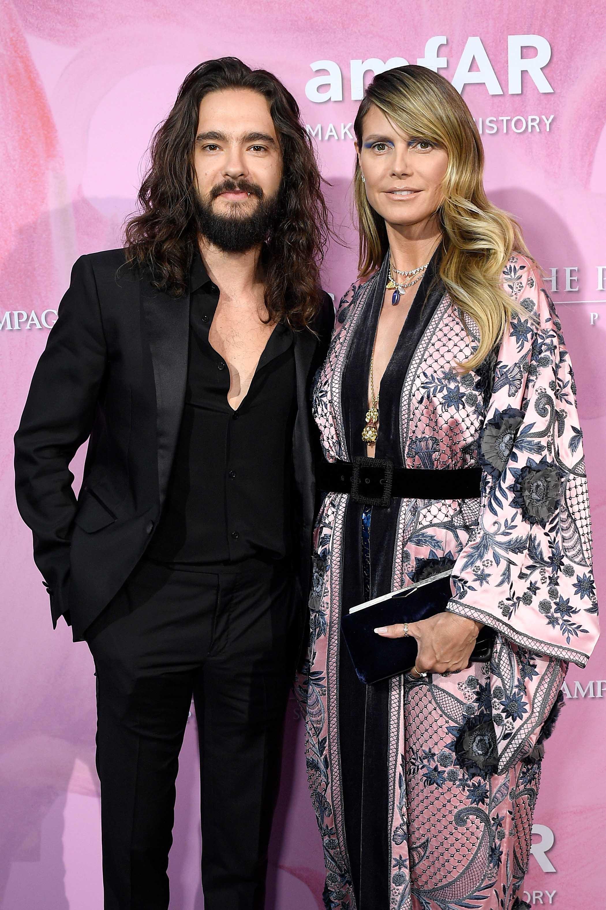 Tom Kaulitz et Heidi Klum © Getty Images