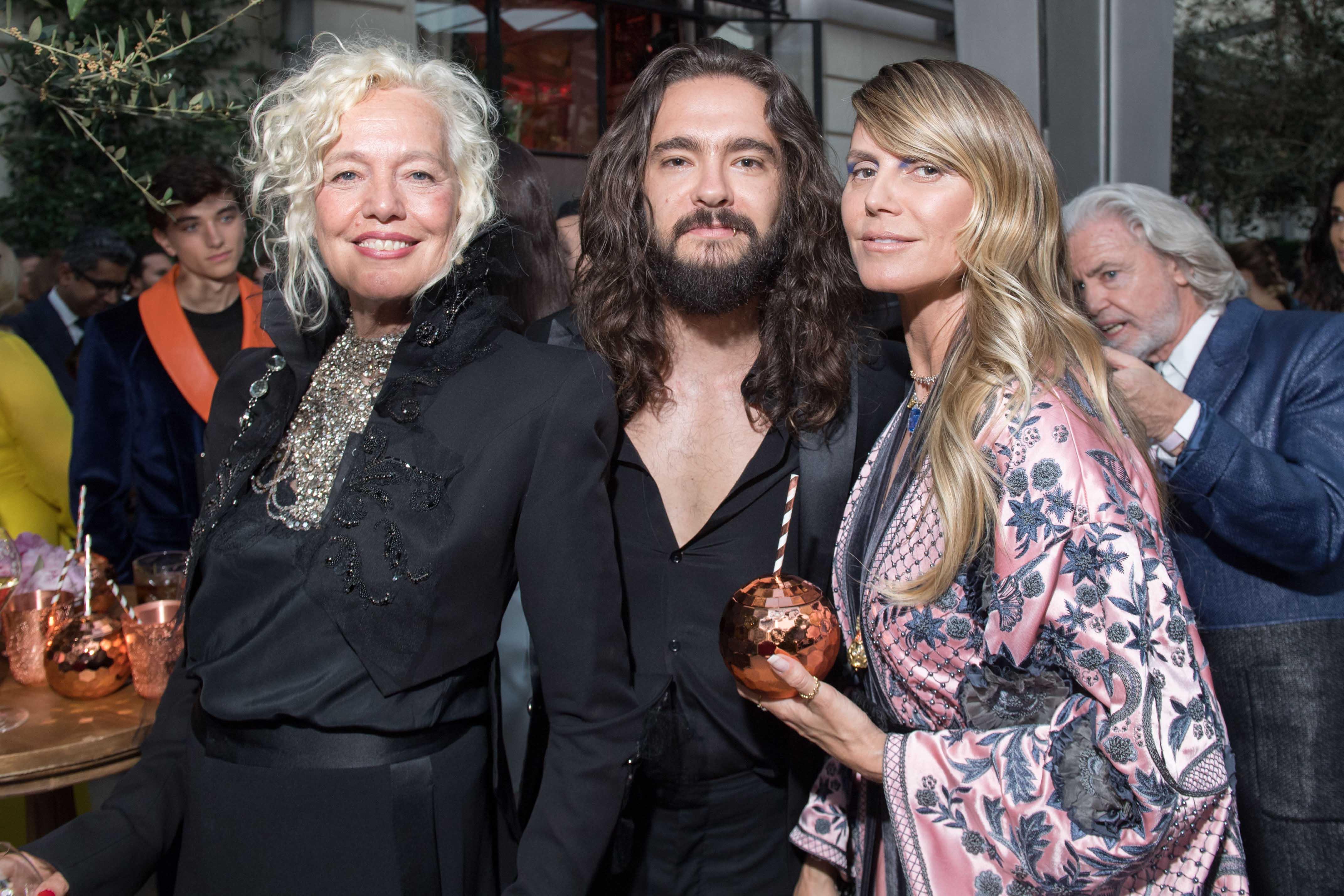 Ellen Von Unwerth, Tom Kaulitz et Heidi Klum © Ryan Emberley