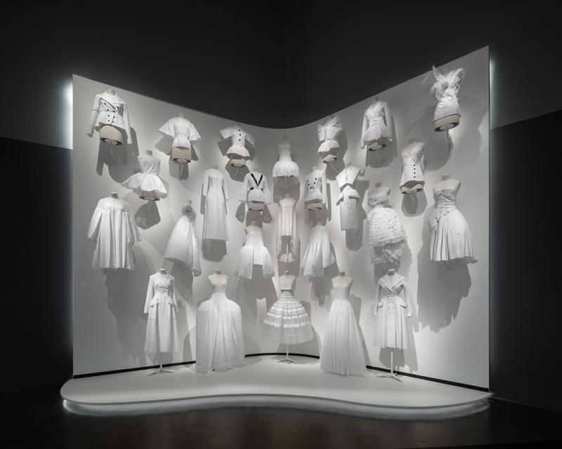 Scénographie de l'exposition, par James Florio