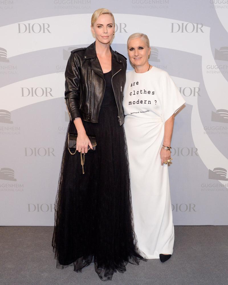 Charlize Theron et Maria Grazia Chiuri