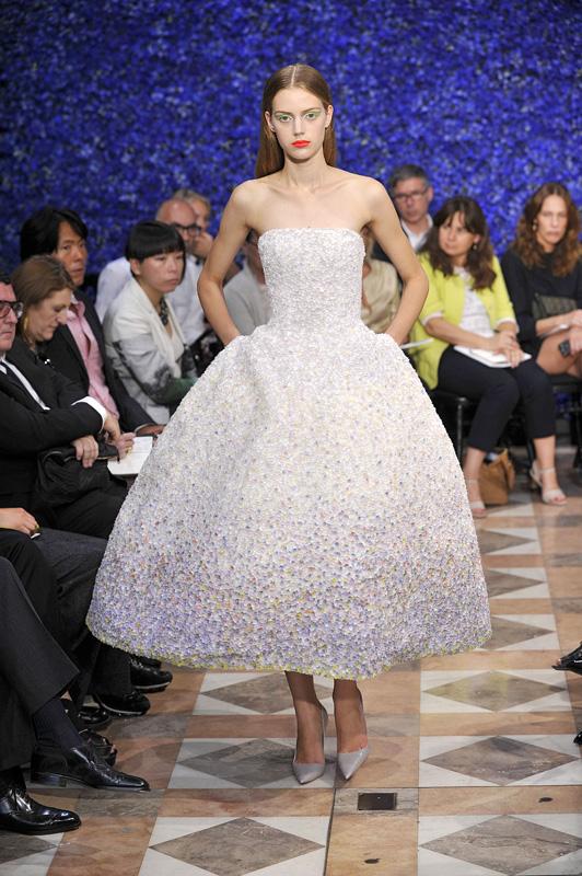 Dior haute couture par Raf Simons automne-hiver 2012