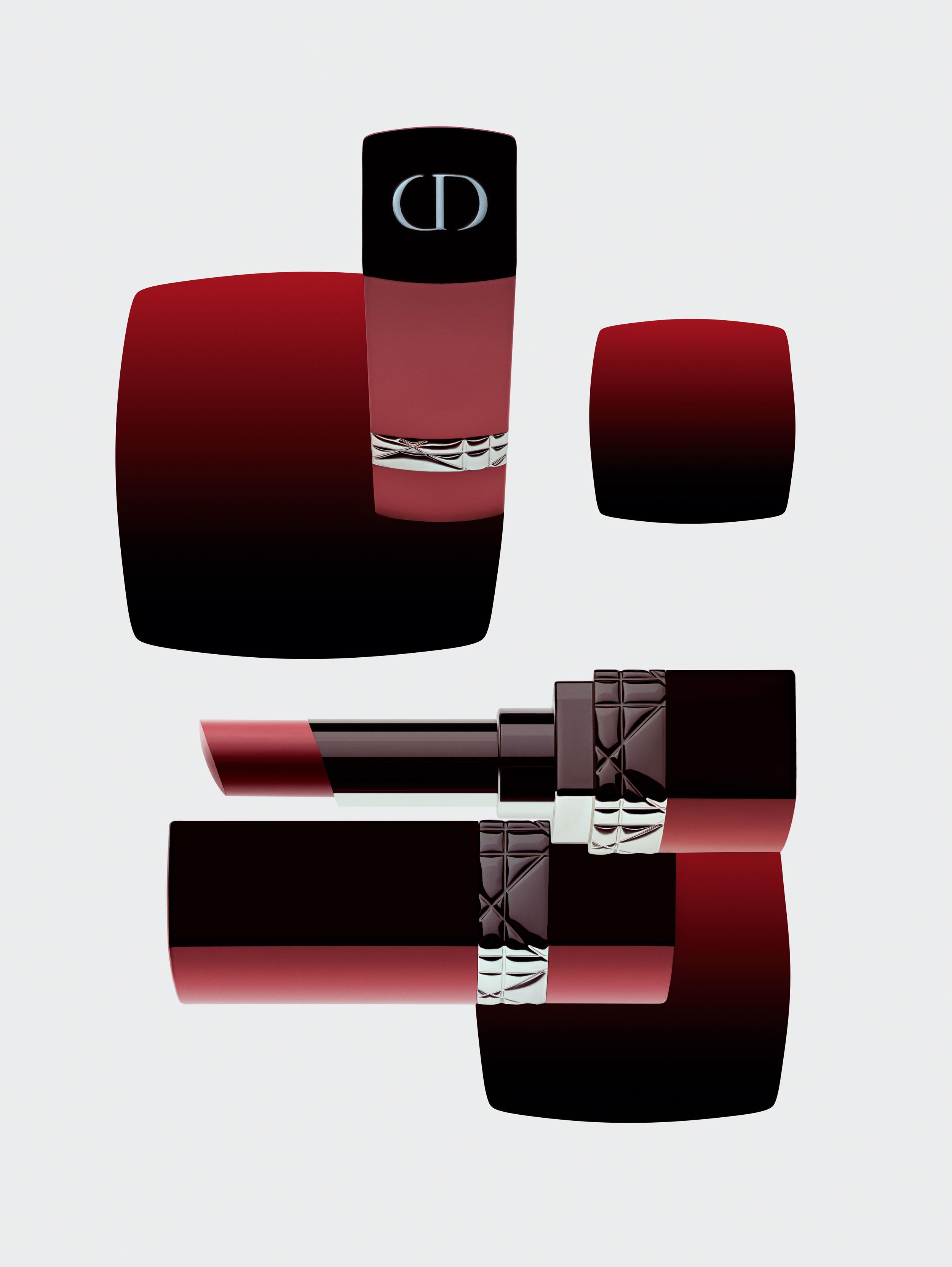 """Rouge Dior Ultra Rouge"", n° 999 ultra Dior, DIOR."