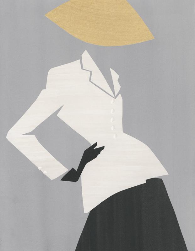 """Veste """"Bar"""" Dior par Mats Gustafson"""