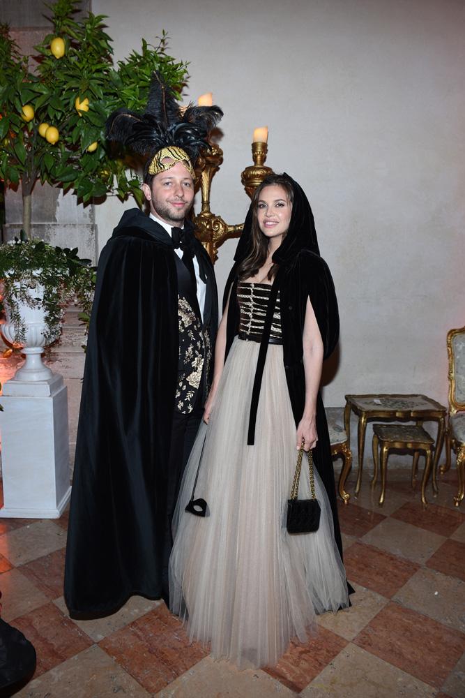 Derek Blasberg et Dasha Zhukova