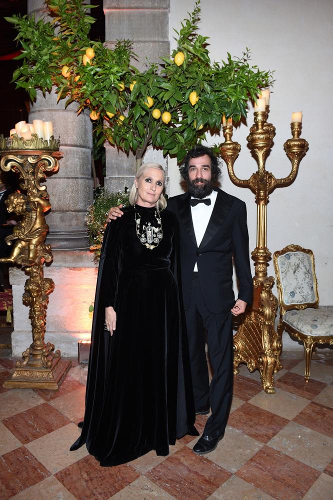Maria Grazia Chiuri et Pietro Ruffo
