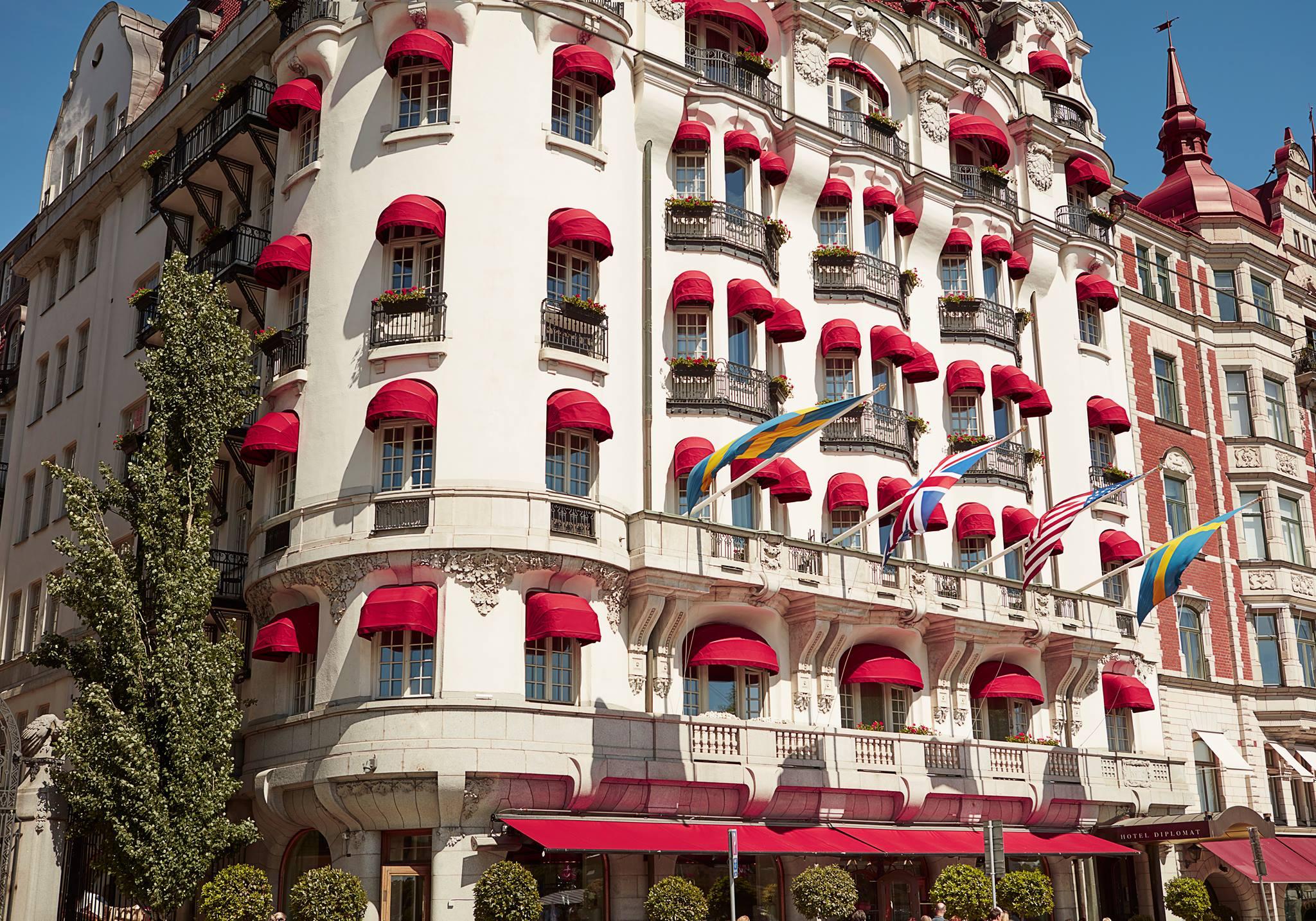 La splendeur de l'hôtel Diplomat