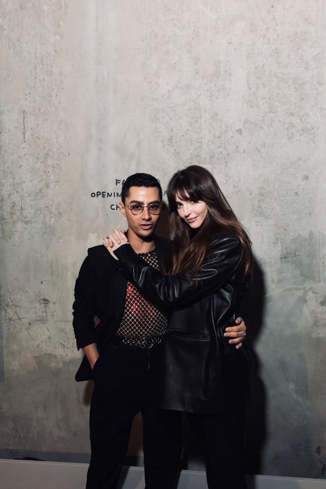 Djanis Bouzyani et Annabelle Belmondo
