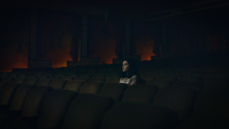 Girl in Theater - courtesy of CreativeChaos omg, Women In Hollywood LLC 2019