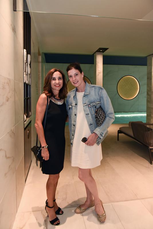 Dominique Le Carou, Directrice Général L'Oréal produits professionels et Marie-Agnès Gillot