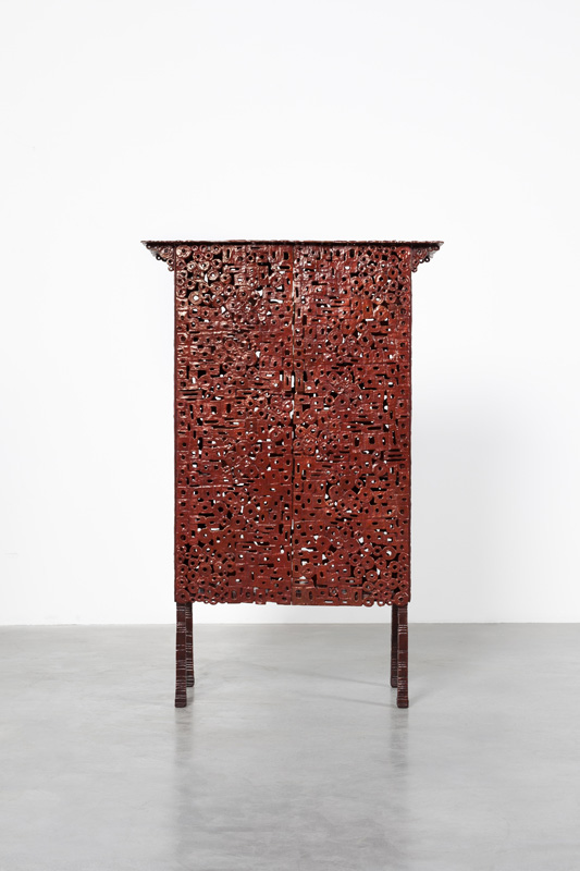 INGRID DONAT | CABINET KLIMT 2015 BRONZE H117 L76 W33 CM / H46.1 L29.9 W13 IN ÉDITION LIMITÉE DE 8 + 4 EA COURTESY CARPENTERS WORKSHOP GALLERY