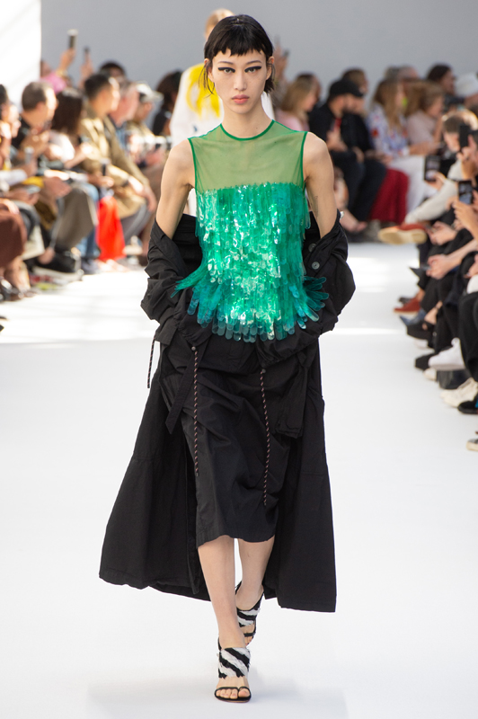 dries van noten springsummer 2019 fashion show