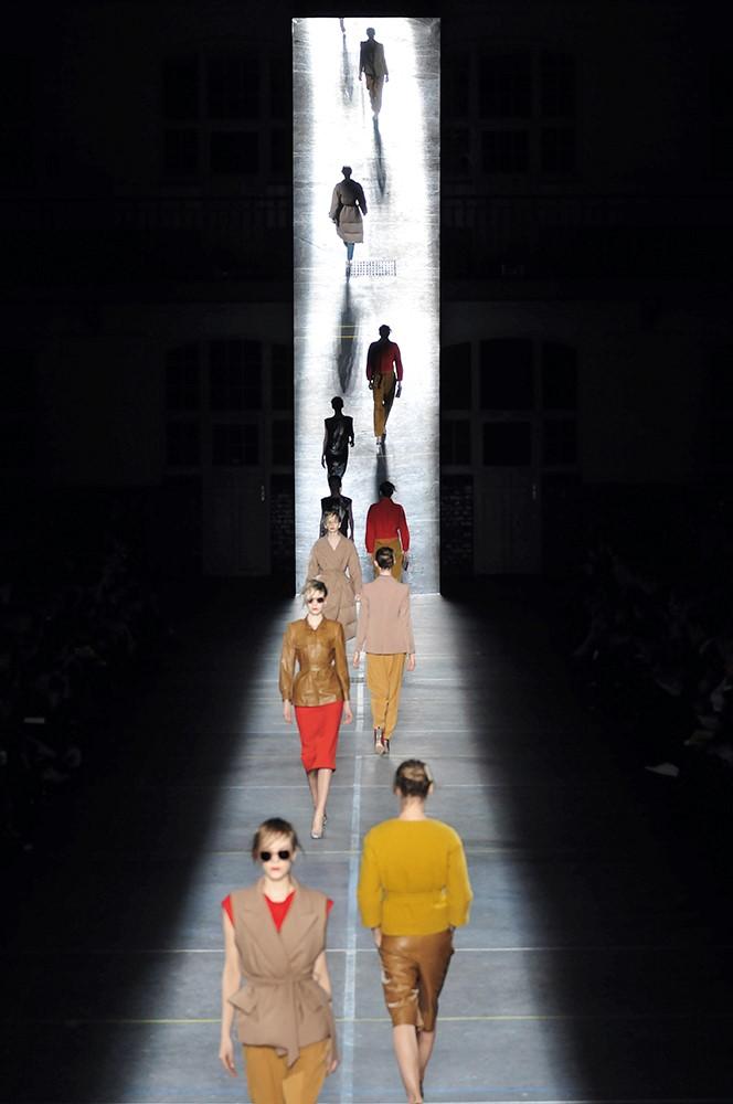 Dries Van Noten collection femme automne-hiver 2009-2010