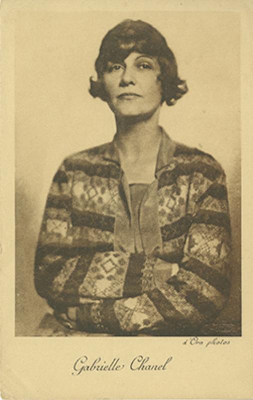 D'Ora. Portrait de Gabrielle Chanel, 1923 © RMN-Grand Palais (Musée national Picasso-Paris) / image RMN-GP