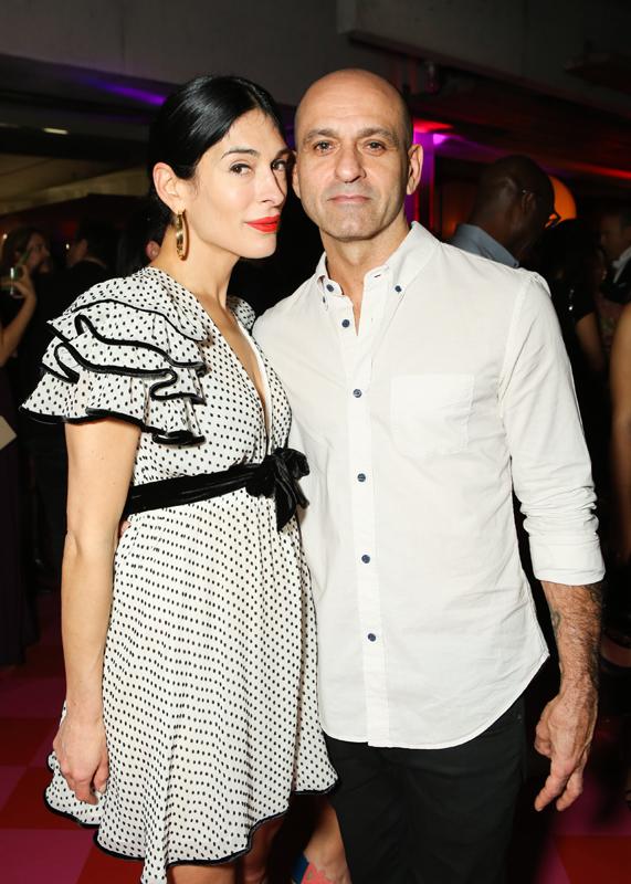 Athena Calderone et Victor Calderone