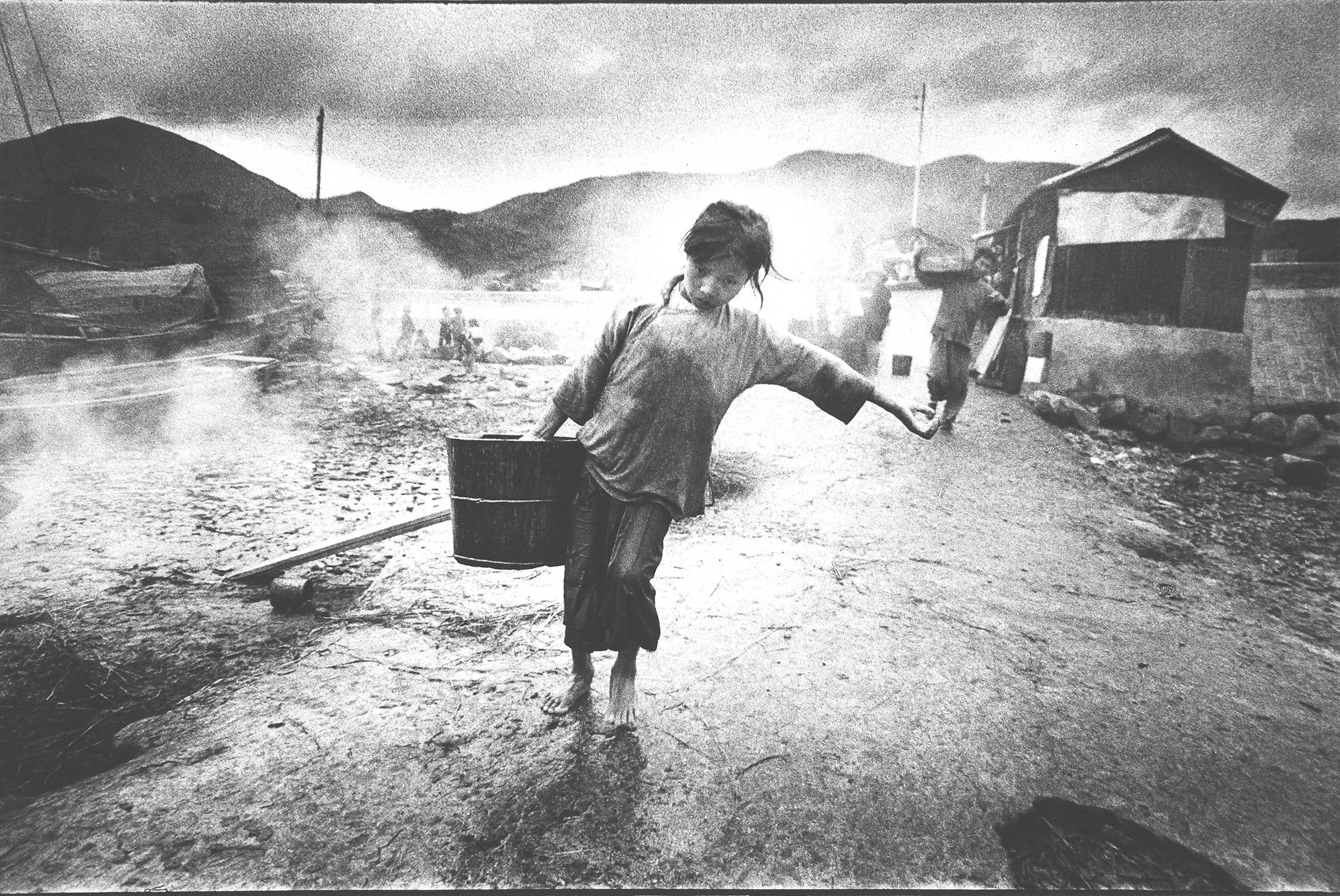 Ed van der Elsken, Réfugiée, Hong Kong, 1959-1960. Nederlands Fotomuseum Rotterdam © Ed van der Elsken / Collections spéciales de l'université de Leyde