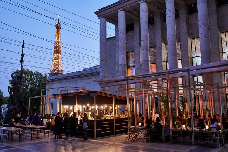 Edo, restaurant du Palais de Tokyo