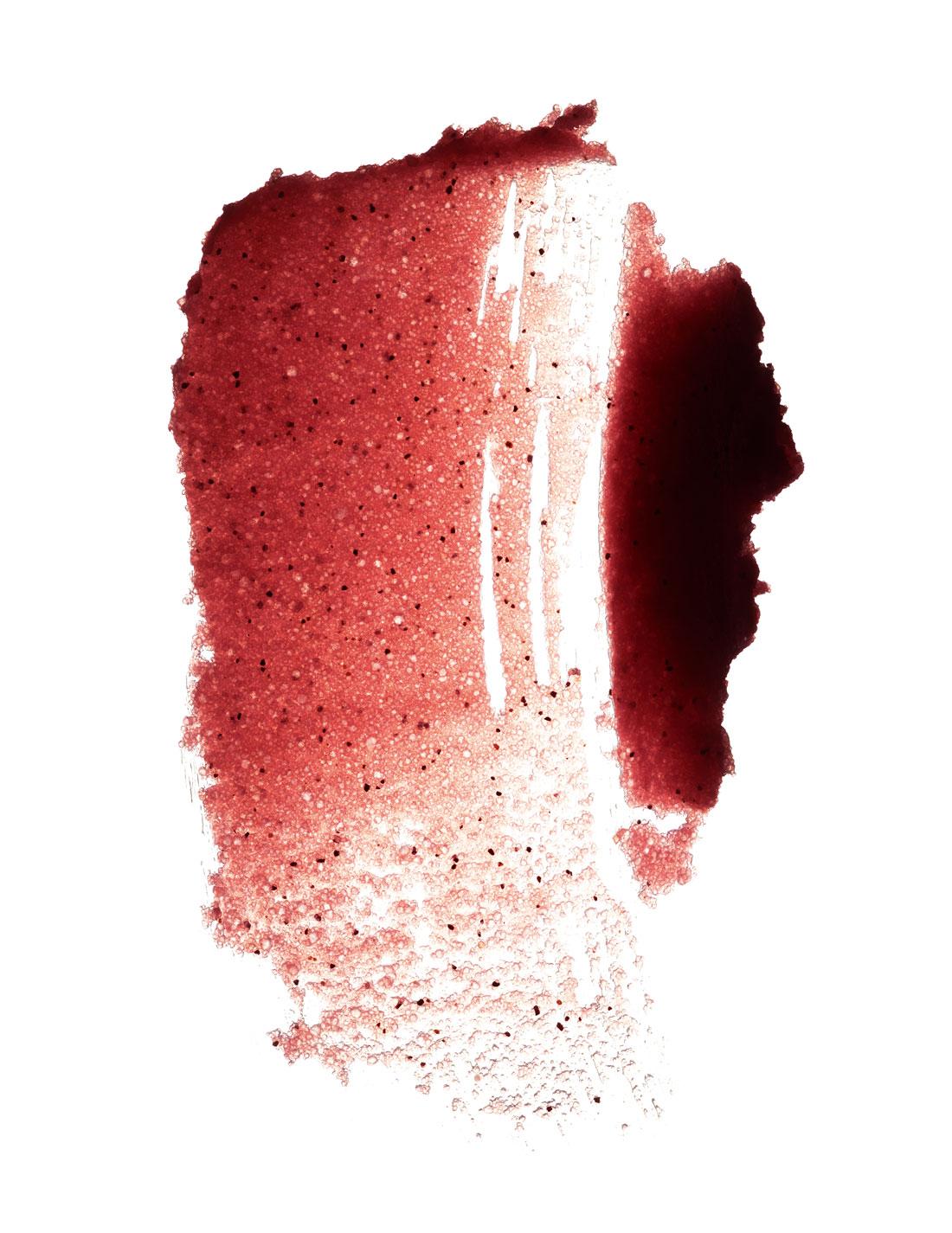 "Huile d'açaí, sucre de canne, graines de maracujá et d'açaí concassées. ""Pulpe Exfoliante à l'Huile d'Açaí, Ekos, NATURA."