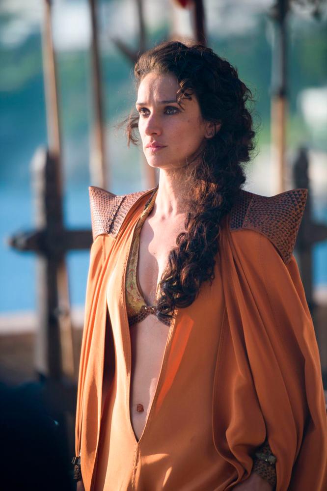 Ellaria Sand in Game of Thrones.