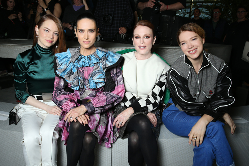 Emma Stone, Jennifer Connelly, Julianne Moore et Léa Seydoux.