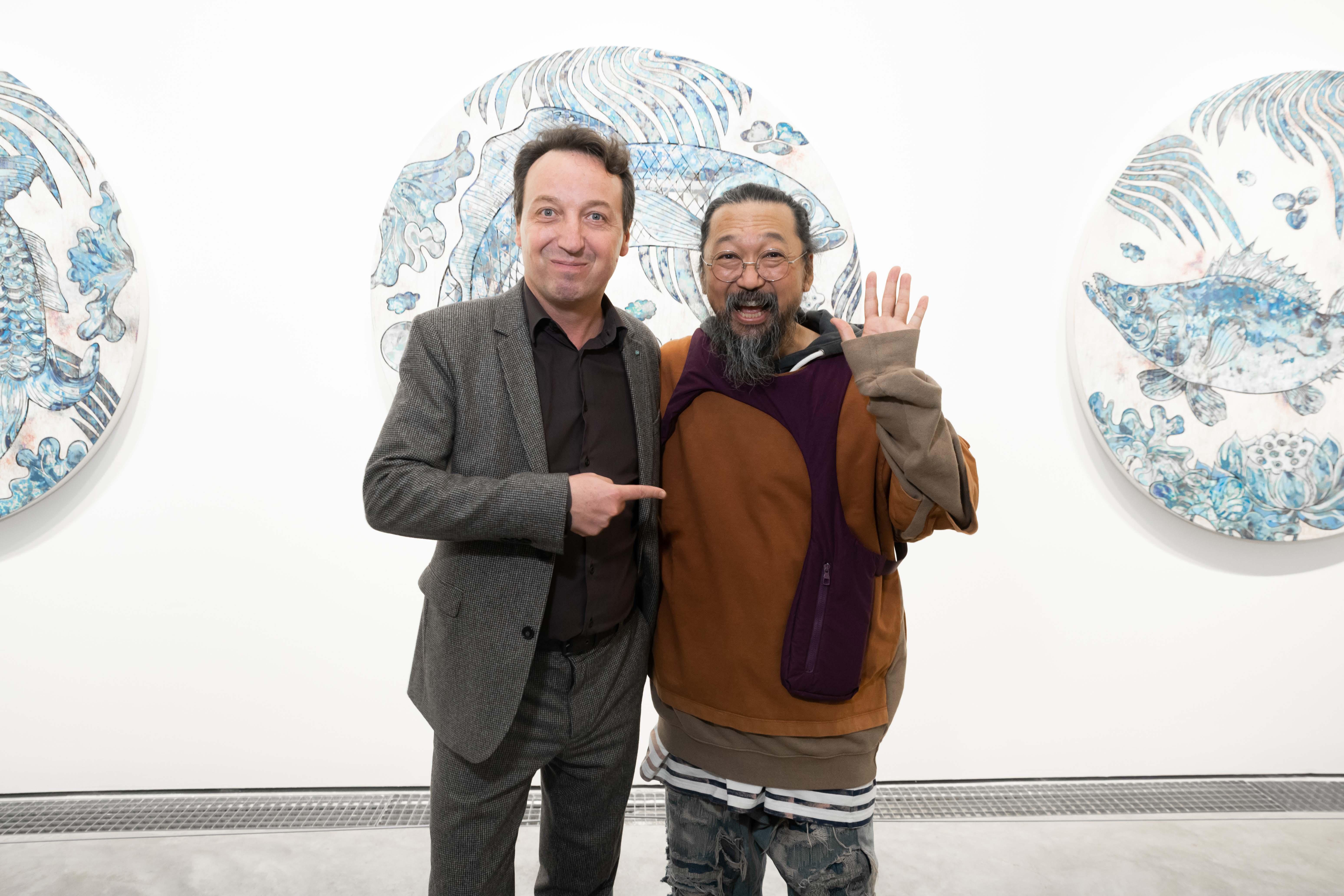Emmanuel Perrotin et Takashi Murakami