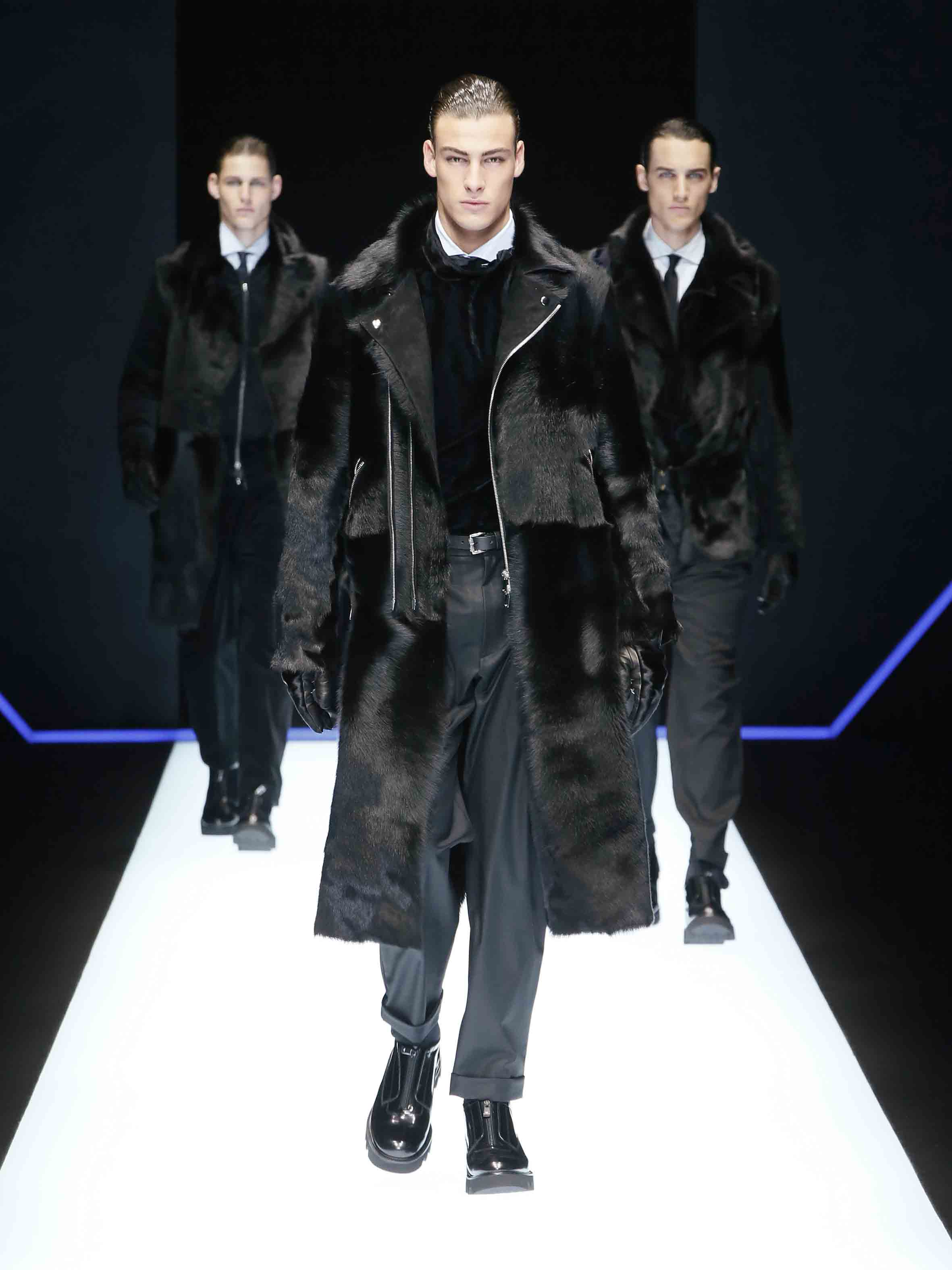 80c1df017e33 Emporio Armani men fall-winter 2018 fashion show