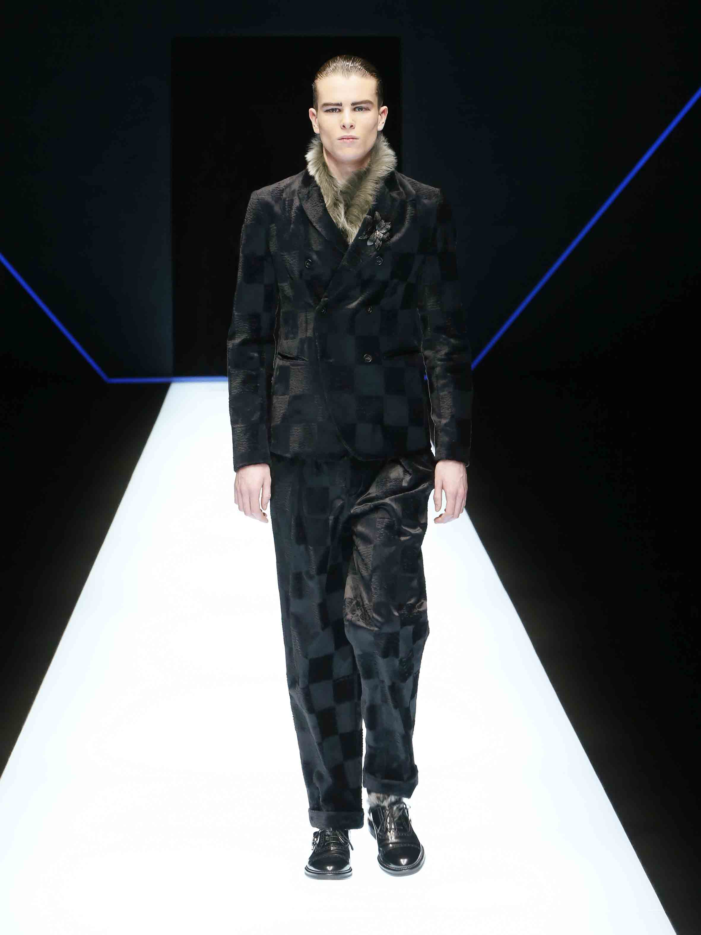Emporio Armani Fall/Winter Collection