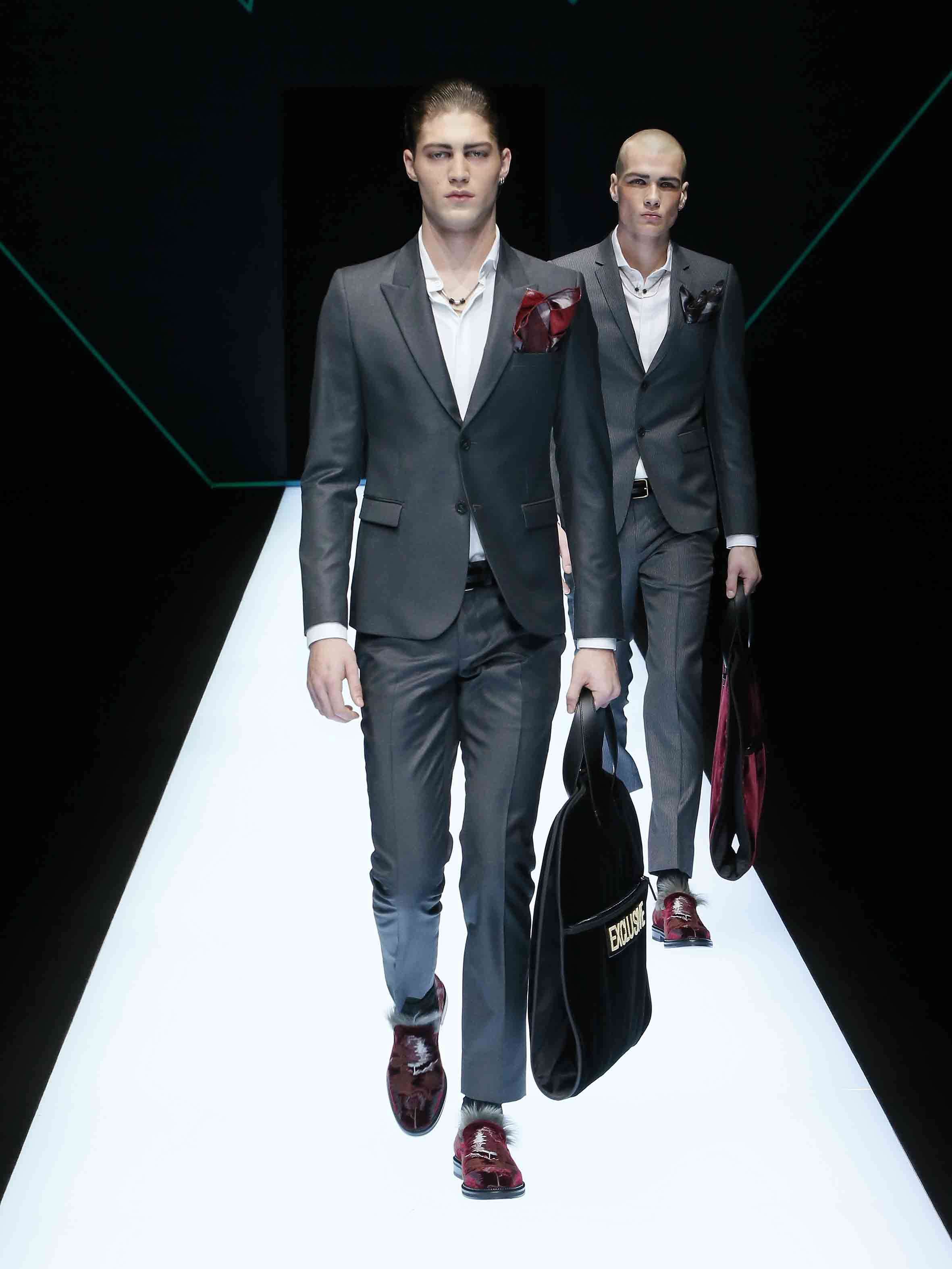 Emporio Armani Men Fall Winter 2018 Fashion Show