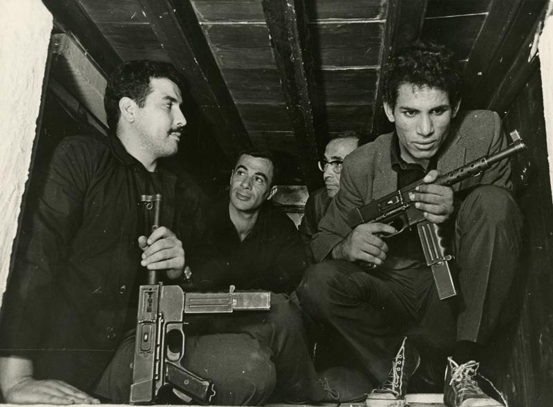 La Bataille d'Alger de Gillo Pontecorvo, 1970.