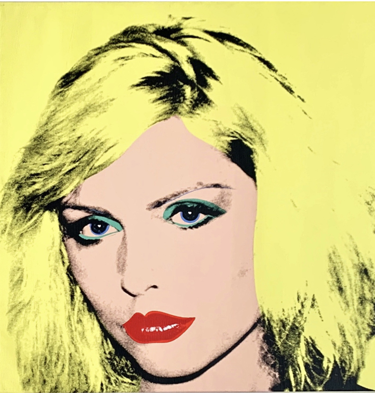 """Andy Warhol, """"Debbie Harry"""" (1980)l. Collection privée de Phyllis et Jerome Lyle Rappaport 1961 © 2019 The Andy Warhol Foundation for the Visual Arts, Inc/Artists Right Society (ARS), New York and DACS, London"""