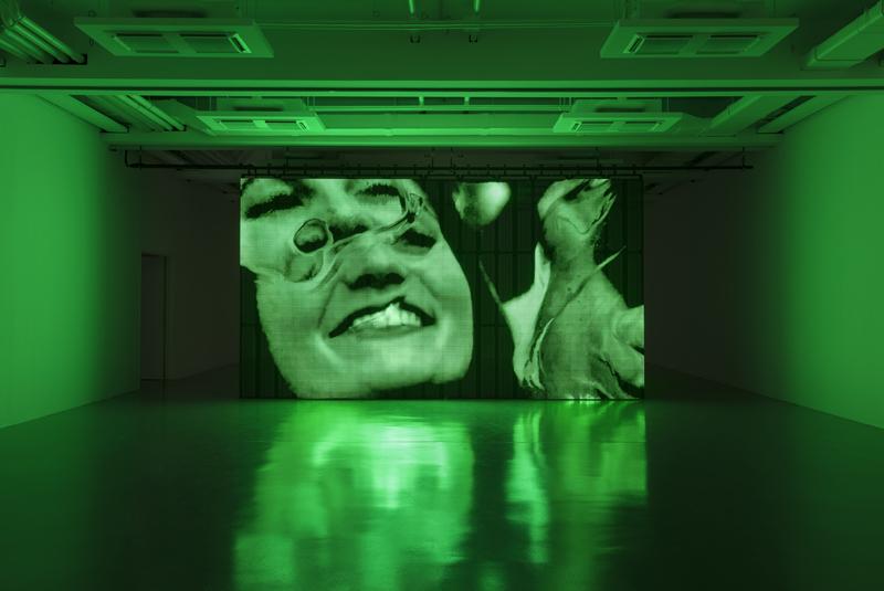 Rachel Rose, vue d'installation. Photo : Andrea Rossetti