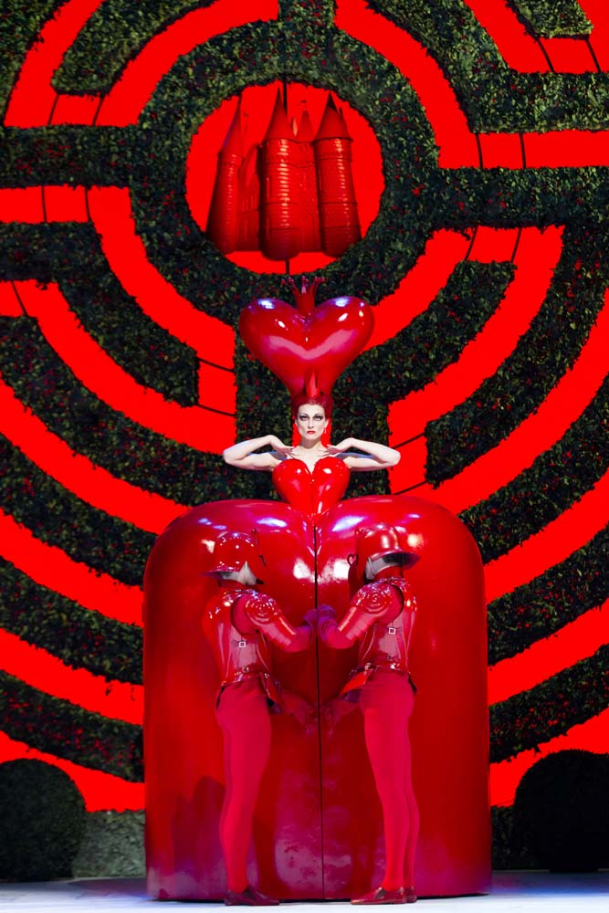 Alice in Wonderland. The Royal Ballet. Zenaida Yanowsky ©ROH, Johan Persson, 2011. Costumes by Bob Crowley