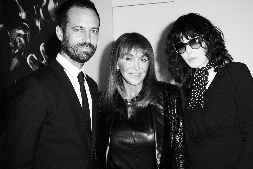 Benjamin Millepied, Babeth Djian et Isabelle Adjani