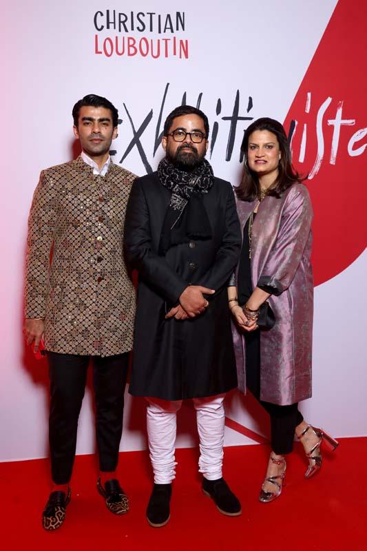 Manav Angelo Kashyap, Sabyasachi Mukherjee et Anjali Gwaeker