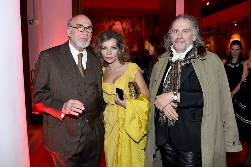 Bruno Chambelland, Eva Ionesco et Simon Liberati