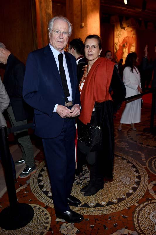 Eric de Rothschild et Beatrice de Rothschild
