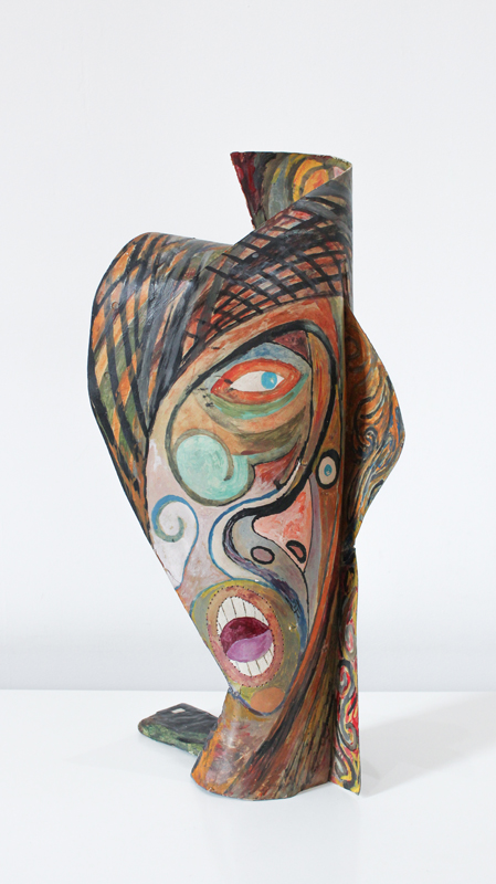 Germán Cueto Máscara estridentista (Stridentist Mask), c. 1924 Colección Ysabel Galán, México Photo: Cortesia del Museo Frederico Silva Escultura Contemporeana, San Luis Potosi, Mexico.