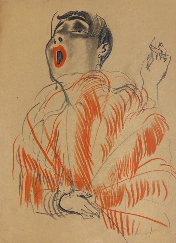Erna Schmidt-Caroll Chansonette (Singer), c. 1928 Private collection © Estate Erna Schmidt-Caroll