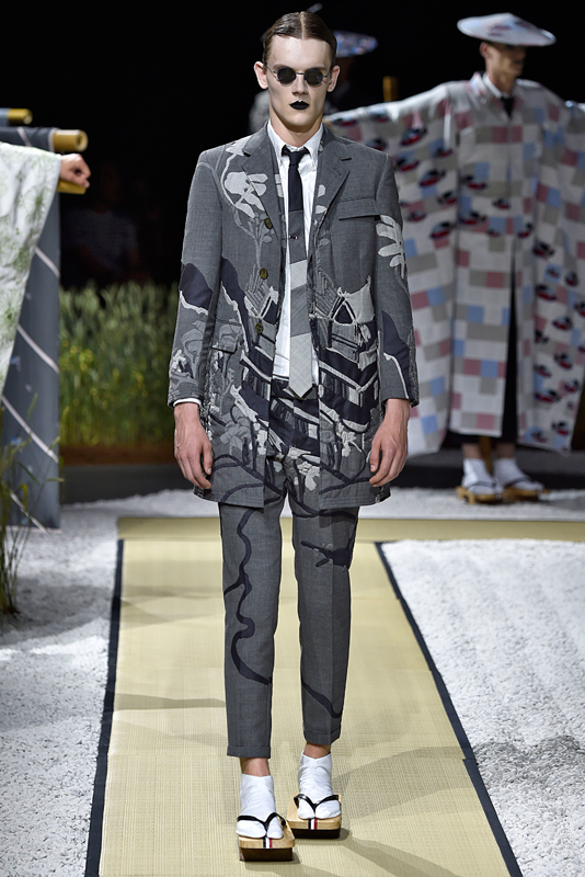 Thom Browne, menswear Spring-Summer 2016, Image Courtesy of Getty Images