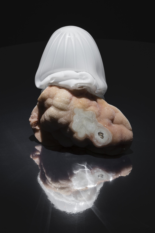 "Rachel Rose, ""Second Born"" (2019) pierre et verre. Courtesy of the artist. Photo: Andrea Rossetti."