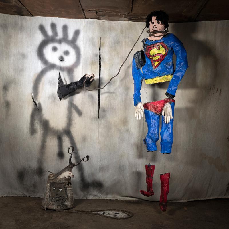 "Roger Ballen, ""Superman"" (2018)"