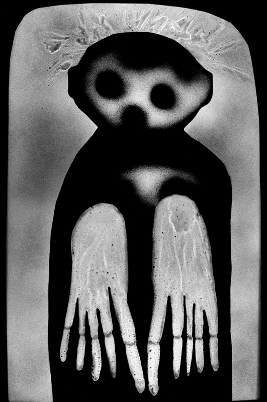 """Roger Ballen, """"Waif""""(2012)."""